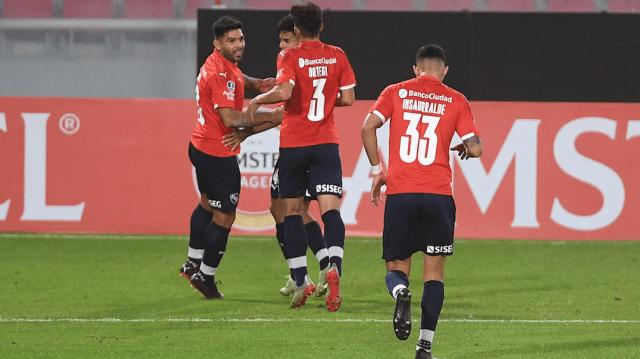 """El """"Rojo"""" perdió por 1-0 en la ida jugada en Vila Belmiro"""