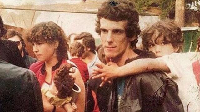 Spinetta en familia.