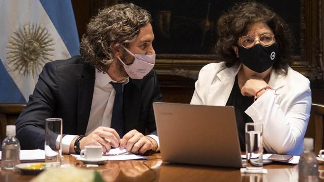 Cafiero y Vizzotti mantuvieron un encuentro con los epidemiólogos