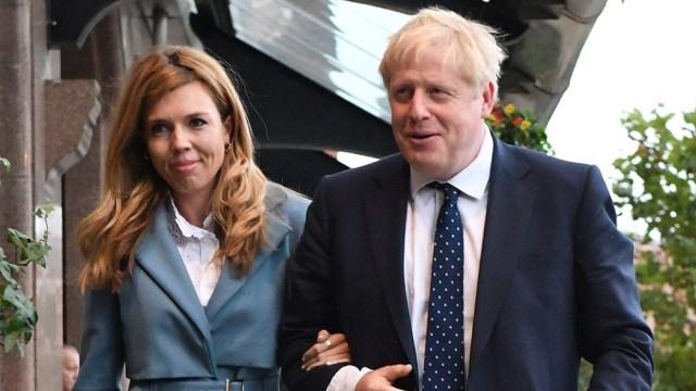 Boris Johnson, y su novia, Carrie Symonds, se casaron en la catedral católica de Westminster.