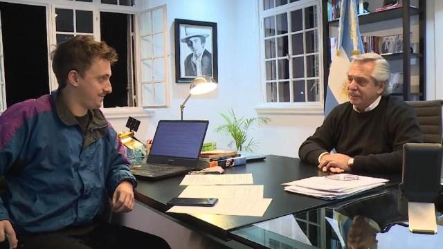 """Así se expresó el mandatario en una entrevista concedida al programa """"De Mil Humores"""", emitido por Canal 9 y conducido por Claudio Villarruel."""