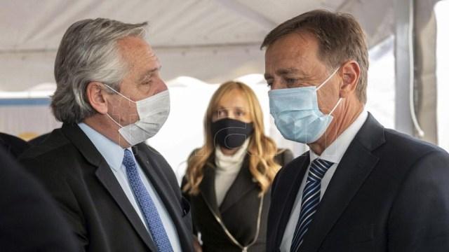 Mendoza recibió este jueves la mayor partida de vacunas contra el coronavirus.