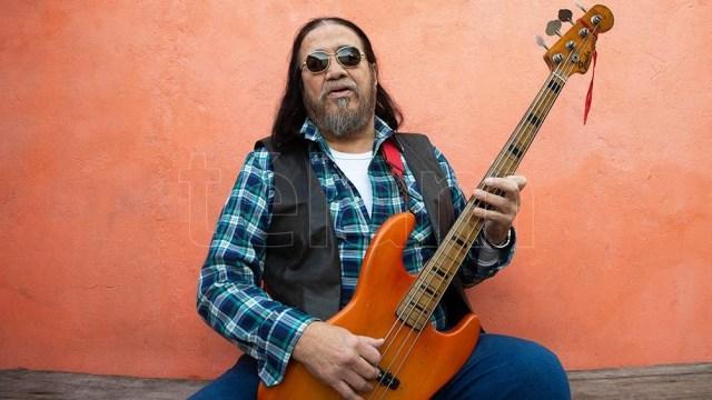 """Medina: """"El que nos enseñó a hacer música en español fue Moris"""" (Foto: Alfredo Luna/Télam)"""