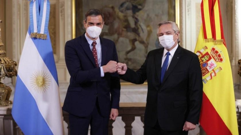 """""""Argentina y España tienen una oportunidad única para entenderse y poder avanzar"""" en las relaciones bilaterales."""