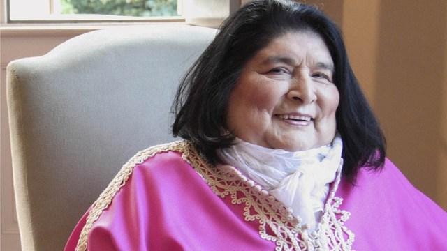 """Mercedes """"La Negra"""" Sosa falleció el 4 de octubre de 2009."""