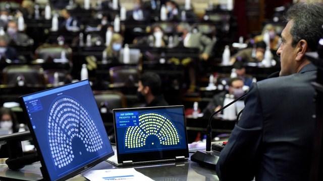 Diputados votó el proyecto impulsado por el presidente de la Cámara, Sergio Massa.