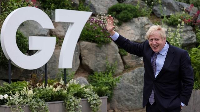 """El premier británico urgió a los países centrales a """"proteger a la humanidad en todas partes""""."""