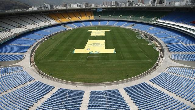 El icónico estadio Maracaná, escenario de la final de la Copa América 2021