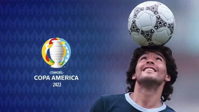 La Conmebol rindió tributo a Diego Maradona antes del duelo ante Chile