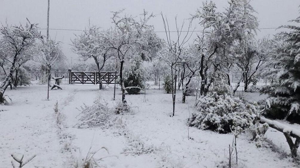 San Luis debió suspender las clases presenciales como consecuencia del intenso frío.