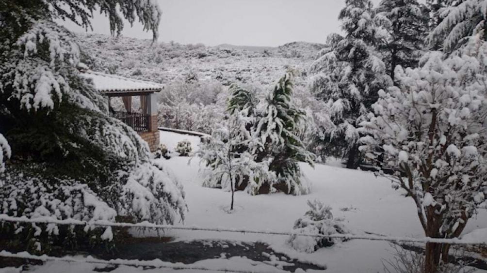 Córdoba: una nevada que no se presentaba desde 2007