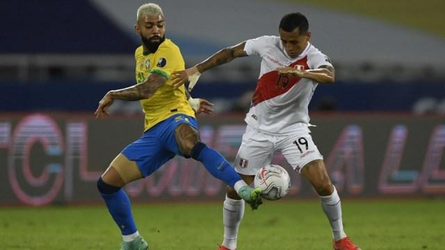El seleccionado local y Perú animaron un entretenido duelo en la segunda jornada del Grupo B de la Copa América