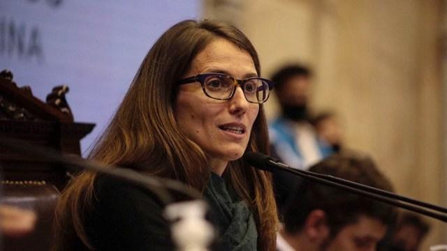 """Gómez Alcorta apuntó que """"hay mucho por hacer"""" para lograr """"una sociedad con plenos derechos""""."""