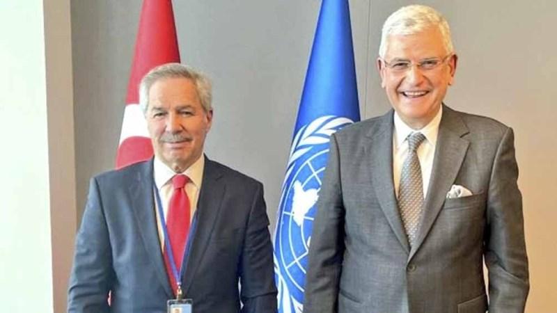 Solá se reunió previamente con el Secretario General de la ONU.
