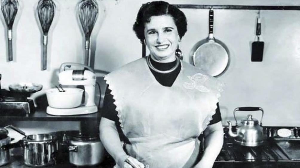 Doña Petrona, una pionera de la cocina por televisión.
