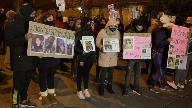 Se realizó una marcha que fue acompañada por vecinas y representantes de grupos feministas