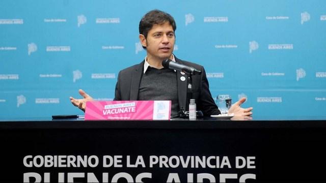 """Kicillof justificó la decisión ante la necesidad de """"retrasar"""" lo más posible el ingreso de la variante Delta"""