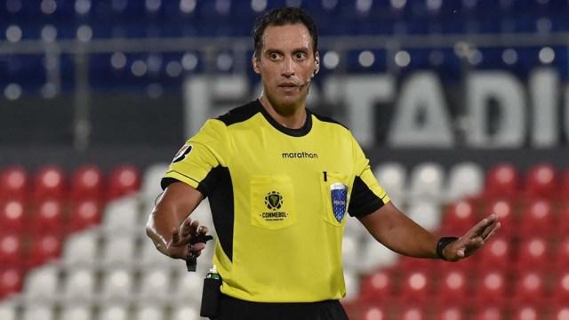 Rapallini fue también cuarto árbitro en Bélgica-Rusia, en la primera etapa de la Eurocopa.