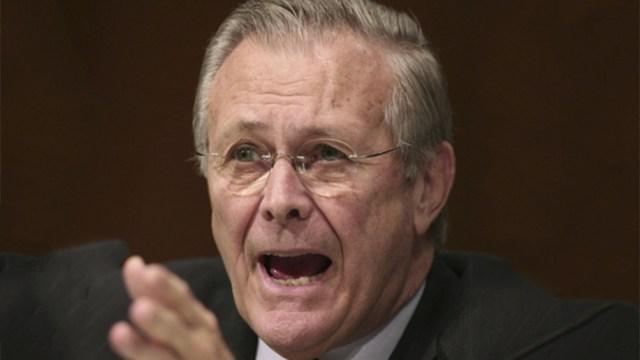 Rumsfeld dos veces secretario de Defensa y jefe de gabinete de la Casa Blanca