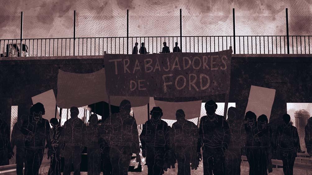 Los cineastas abordan la lucha encarada desde la clase trabajadora contra la dictadura iniciada en 1976.