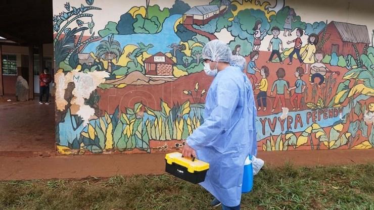 La provincia ya vacunó al 100% de la población de entre 18 a 59 años con discapacidad o alguna comorbilidad. Foto: Germán Pomar
