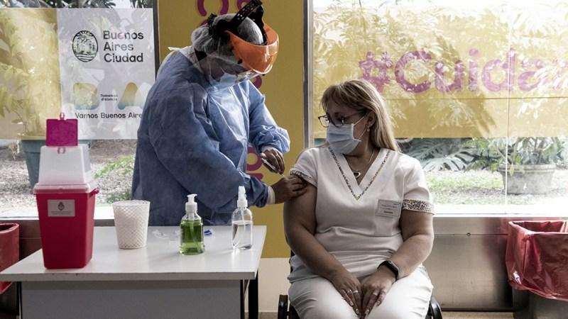 En la Ciudad se aplican las vacunas Sputnik-V, Sinopharm, AstraZeneca y de Modera.