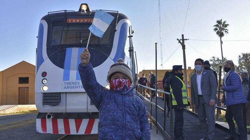 A partir del lunes los vecinos podrán utilizar el tren para movilizarse entre Campo Quijano y Güemes.