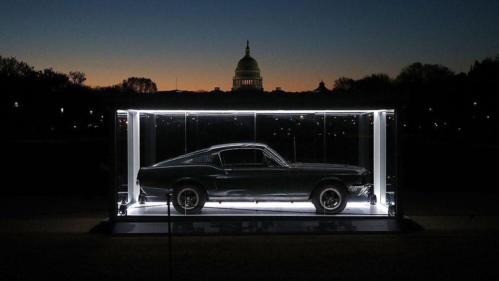 McQueen figura como primer propietario del coche fabricado en 1969. Foto: AFP