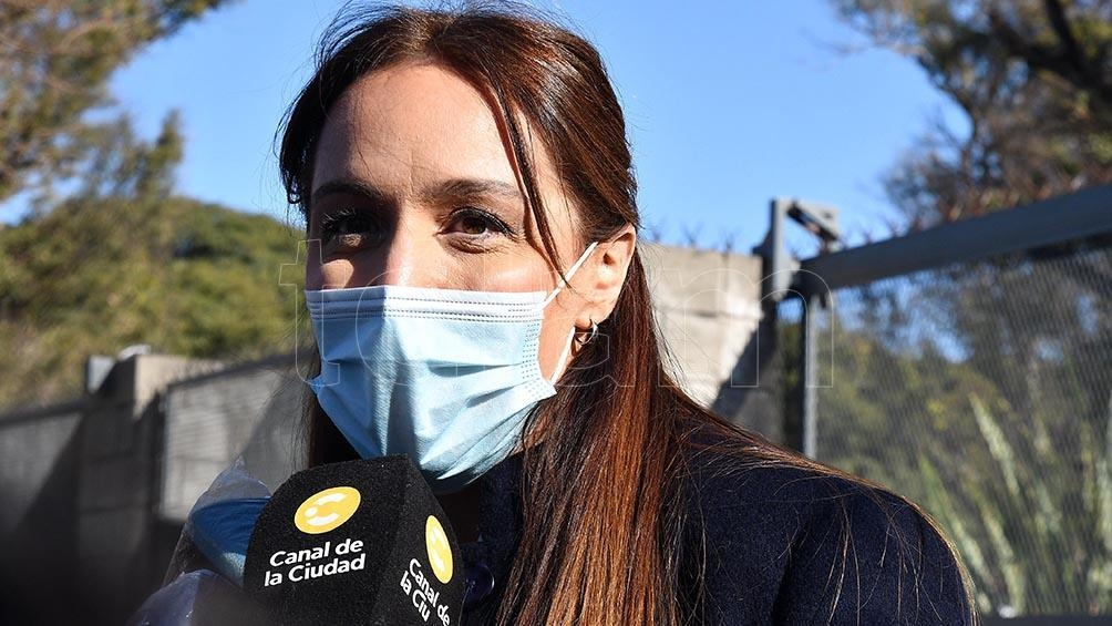 María Eugenia Vidal entrará en la disputa por las 13 bancas de la Cámara de Diputados que se renuevan este año (Foto: Eli Obregón)