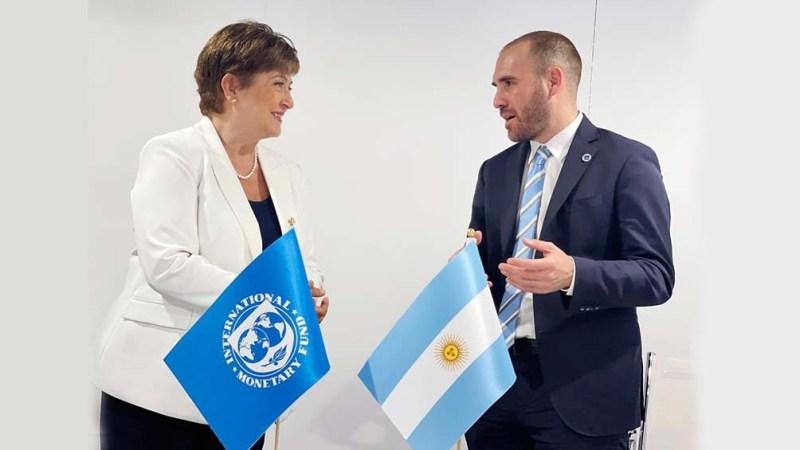 El ministro de Economía, Martín Guzmán, se reunirá con la directora gerenta del FMI, Kristalina Georgieva.