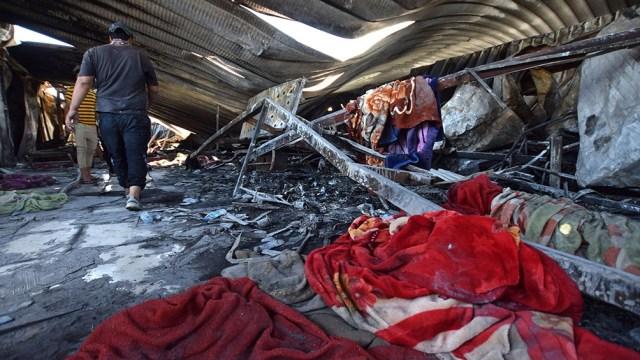 El incendio fue causado por la explosión de botellas de oxígeno según una fuente del departamento de salud provincial.