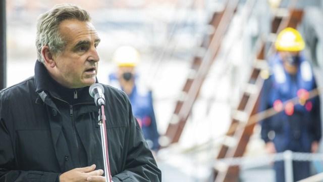 Agustín Rossi, cabeza de lista de una de las propuestas del FdT.