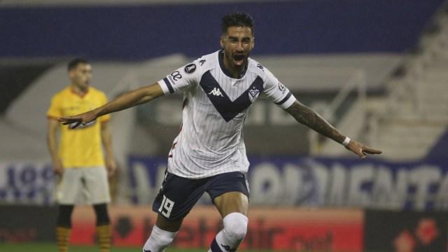 Juan Martín Lucero metió el único gol del partido.