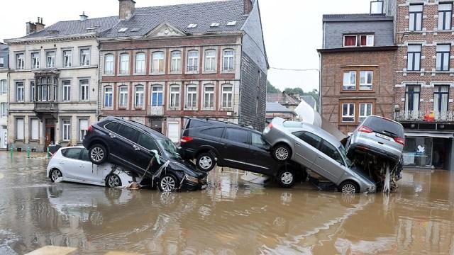 Son 141 los muertos en Alemania. Foto: AFP.