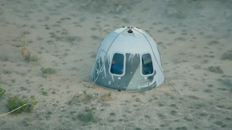 Es el primer lanzamiento con tripulación de Blue Origin y un paso fundamental para la incipiente industria del turismo espacial.