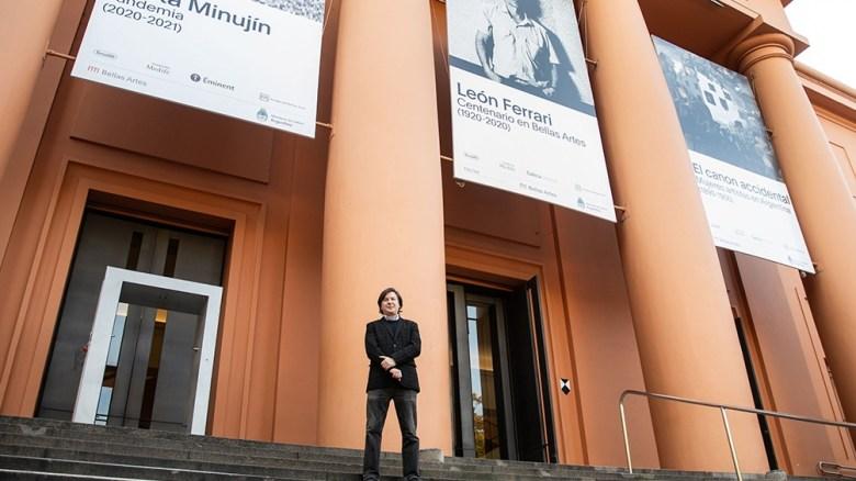 Duprat está al frente de Bellas Artes desde 2015.