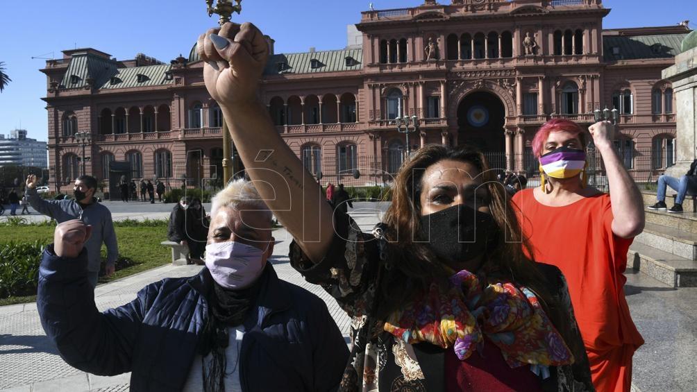 """De Pedro: """"Los argentinos dimos un paso muy importante, un paso más en una Argentina que amplia derechos"""". Foto: Pablo Añeli"""
