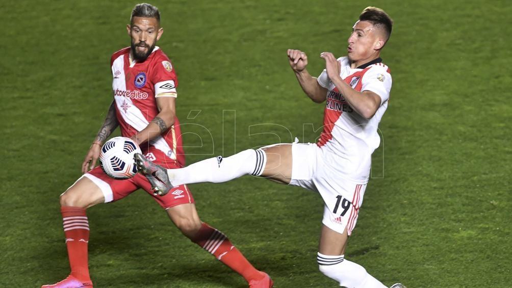 River a cuartos de final, donde enfrentará a Atlético Mineiro. (Foto: Alejandro Santa Cruz)