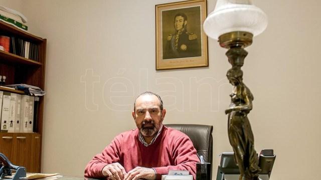 Director del Archivo Histórico de Santiago del Estero, Juan Viaña. Foto: Emilio Rapetti