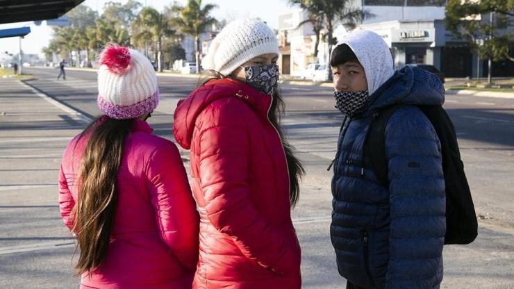 Otro récord en Presidencia Roque Sáenz Peña, Chaco, con una temperatura de -7.4°. Foto: Leo Vaca