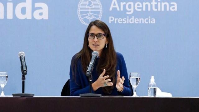 La ministra de las Mujeres, Géneros y Diversidad, Elizabeth Gómez Alcorta, destacó la importancia de financiar las políticas de género, de cuidado, y contra las violencias.