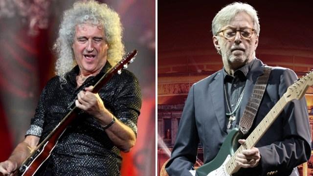 El guitarrista de Queen, Brian May, cuestionó la postura antivacunas de Eric Clapton.