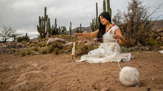 Ña artista  se presentarpa en la Quebrada de Humahuaca