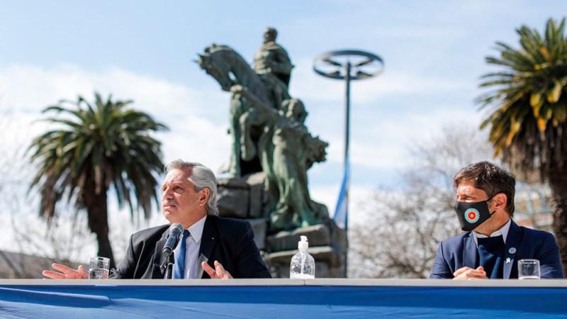 """El Presidente afirmó que San Martín es """"un modelo de unidad"""" que los argentinos """"deben seguir""""."""