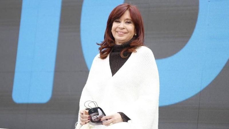 El acto es encabezado por el presidente Alberto Fernández.