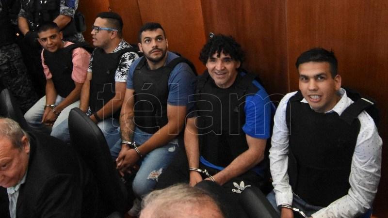 Integrantes de la banda de Los Monos. Foto: Sebastián Granata (Archivo).