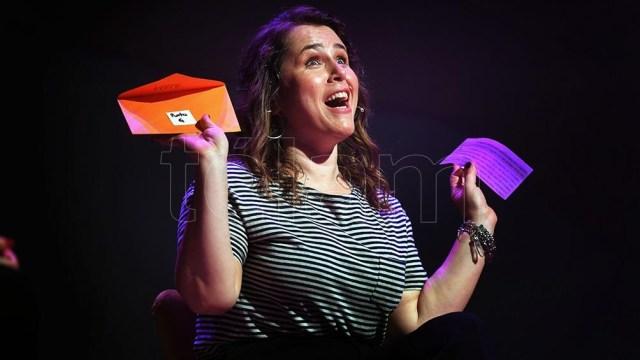 Malena Guinzbur, con la irreverencia y la acidez a flor de piel (Foto: Julián Alvarez)