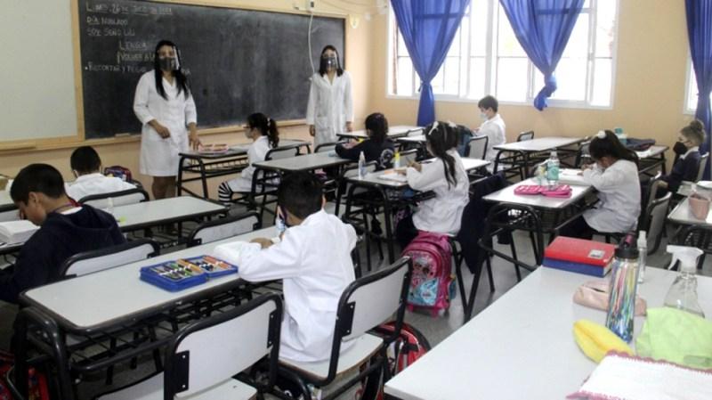 El Consejo Federal de Educación aprobó cambios en el protocolo para las escuelas. Foto: José Gandolfi