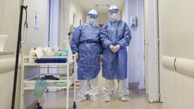 La cartera sanitaria indicó que son 1.614 los internados con coronavirus en unidades de terapia intensiva.