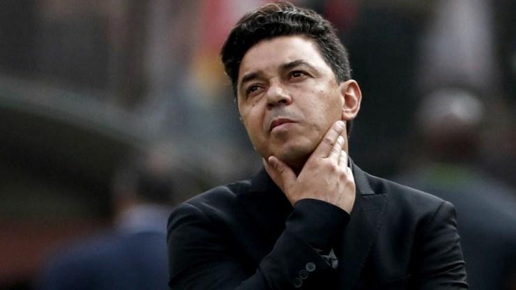 En cuanto al posible equipo para enfrentar al Ciclón, el técnico de River va a esperar hasta el viernes cuando regresen todos los jugadores convocados a las seleccione